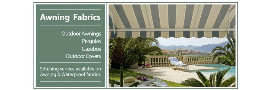 Awnings for outdoor greens