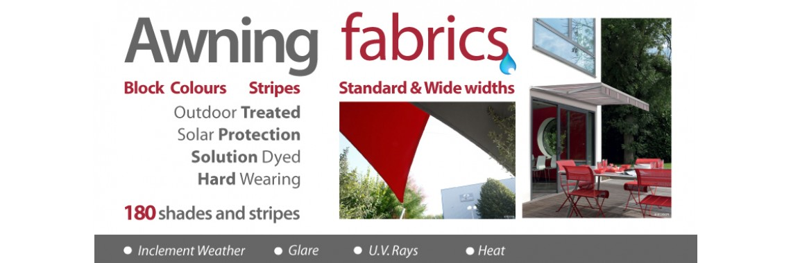 Awnings for outdoor