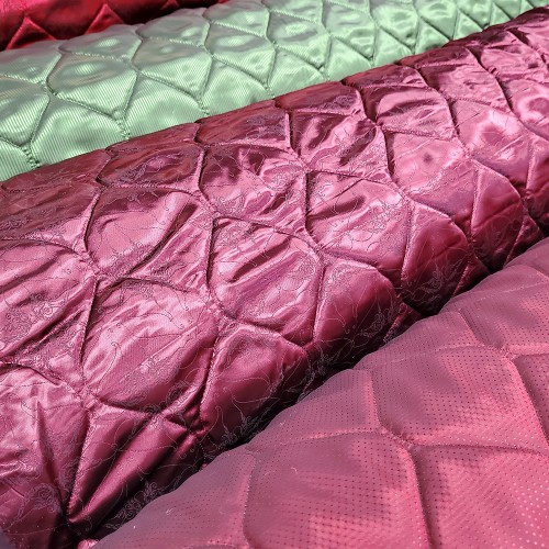 Quilted Italian lining fabric - Onion