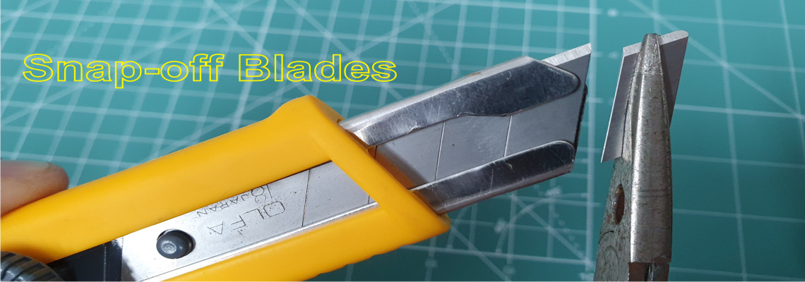 Olfa cutters and spare Blades